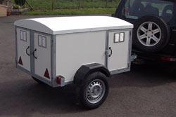 Three compartment Trailer