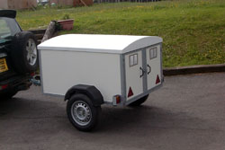 Two compartment Trailer
